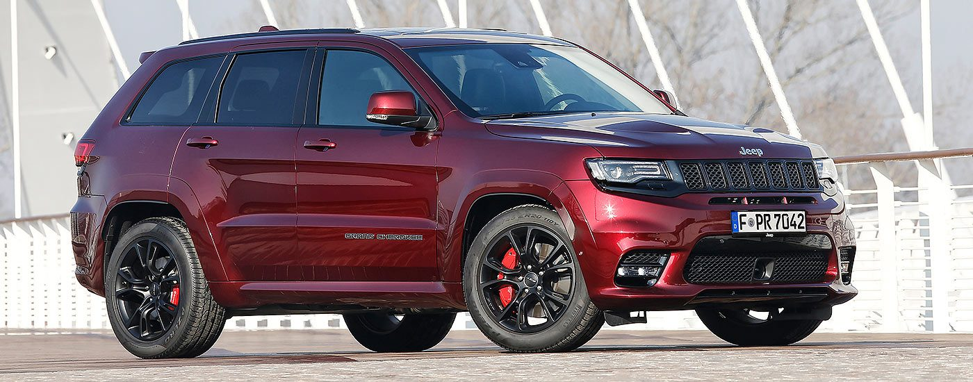 Grand Cherokee Modellpalette